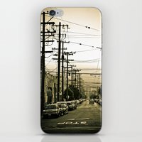 street iPhone & iPod Skins featuring street by petervirth photography