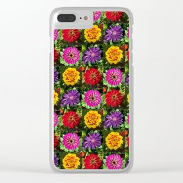 Summer Bouquet 3 Clear iPhone Case