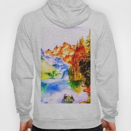 Mountains in Autumn colours Hoody