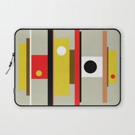 Mid Century Geometric Art Design Laptop Sleeve
