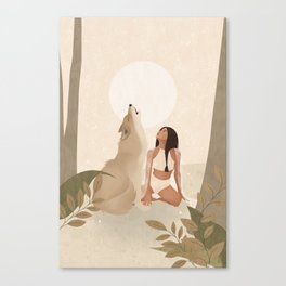 Spirit Animal – Wolf Canvas Print