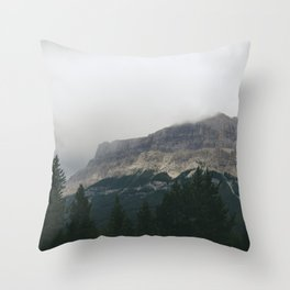 Above the Tree Line pt2 Throw Pillow