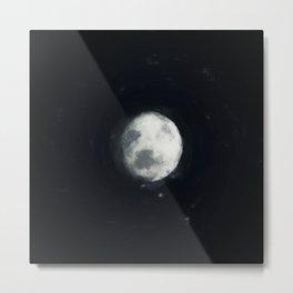 brushed fantasy full moon Metal Print