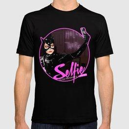 Catwoman Takes A Selfie T-shirt