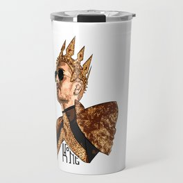 King Bill - Black Text Travel Mug