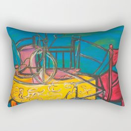 "Celebrations #society6 #decor #buyart  36"" x 64"" Oil on hand stretched canvas Rectangular Pillow"