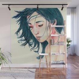 East Wind Girl Wall Mural