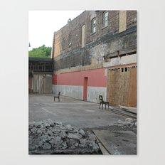 abandoned tango Canvas Print