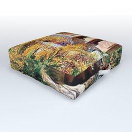 Frank Lloyd Wright Fallingwater Outdoor Floor Cushion