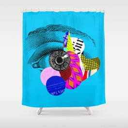 Let's Talk Shower Curtain