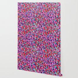 Pink Dreams Abstract Painting Wallpaper