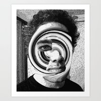 jon contino Art Prints featuring Jon 222 by Jose Luis
