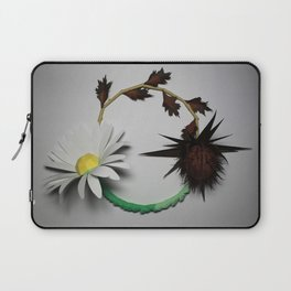 Good vs Evil Laptop Sleeve