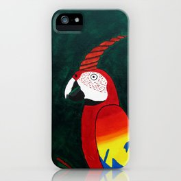 Parrot Evolution iPhone Case
