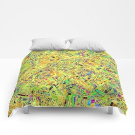 Abstract RR QQF Comforters
