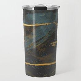 three lines in a box Travel Mug