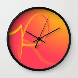 Rolling R Wall Clock