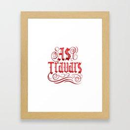 AS TRAVARS Framed Art Print