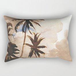 Palm Trees Bahamas Circa 1888 By WinslowHomer | Reproduction Rectangular Pillow