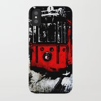 subway iPhone & iPod Cases featuring subway by gizem sevinç