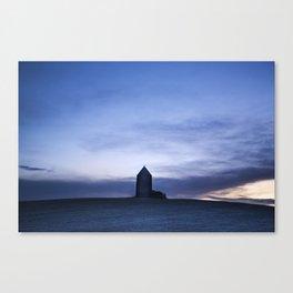Tower at False Dawn Canvas Print