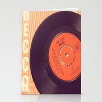 record Stationery Cards featuring Vintage Record  by secretgardenphotography [Nicola]