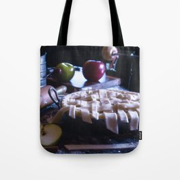 Apple Pie in the Making Tote Bag