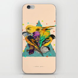 Colour Party iPhone Skin