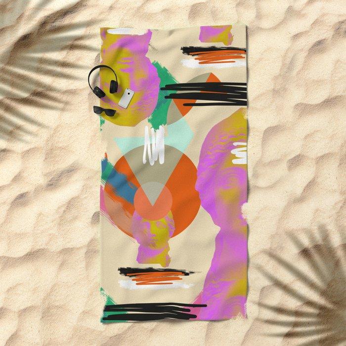 Cythera Beach Towel