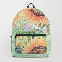 Flowers bouquet #66 Backpack
