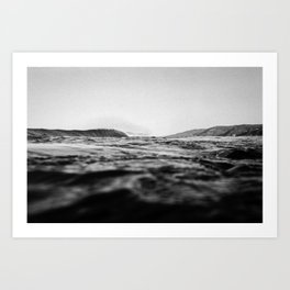 Below Sea Level Art Print
