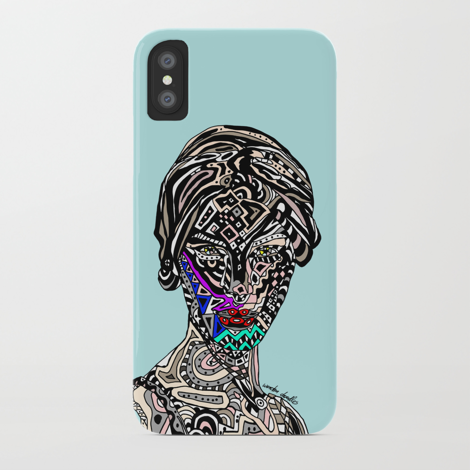 Space Goddess iphone case