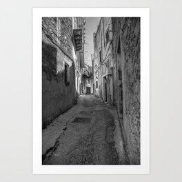 Caltabellotta Sicily Art Print