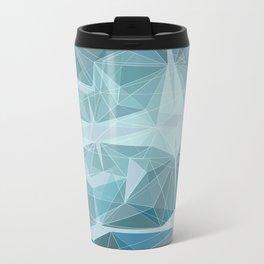 Winter geometric style - minimalist Metal Travel Mug