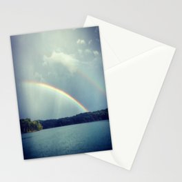 Rainbow Showers Stationery Cards