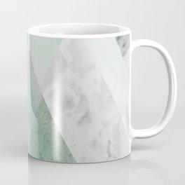 MINT TEAL GRAY CONCRETE abstract Coffee Mug