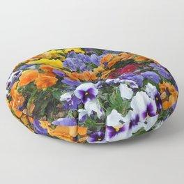 Pancy Flower 2 Floor Pillow