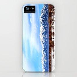 Sayan Mountains iPhone Case