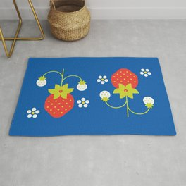 Fruit: Strawberry Rug