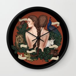 Seven Deadly Sins Wall Clock