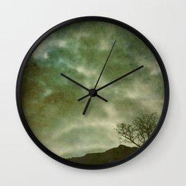 Whispered Darkly Wall Clock