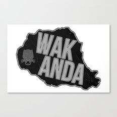 Wakanda Canvas Print