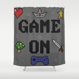 Game On Shower Curtain