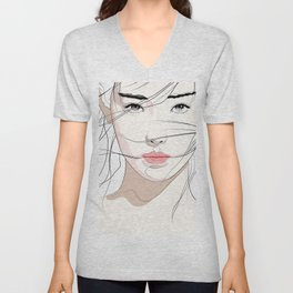 Under The Mask Unisex V-Neck