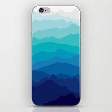 Blue Mist Mountains iPhone & iPod Skin