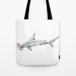 Hammerhead shark for shark lovers, divers and fishermen Tote Bag