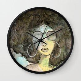 Dope Girl Wall Clock