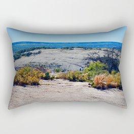 The Enchanted Rock State Natural Area Rectangular Pillow