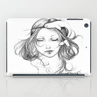 narwhal iPad Cases featuring Narwhal by Mortimer Sparrow