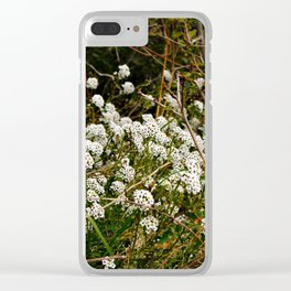 Nature's Fashion Week VI Clear iPhone Case